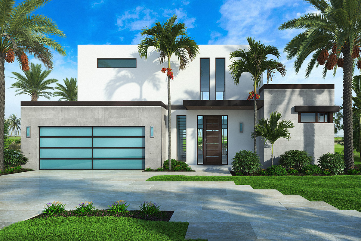 Modern Beach House for Indoor \/ Outdoor Lifestyle - 86082BW  Architectural Designs - House Plans
