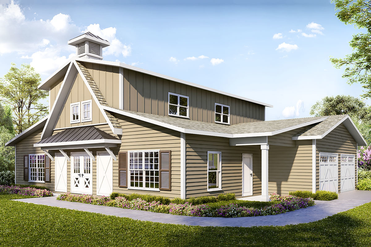 Garage Apartment Plans Architectural Designs