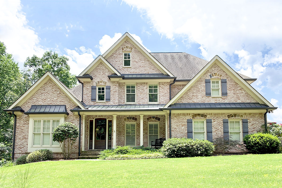 Stunning Traditional House Plan With Two-story Family Room