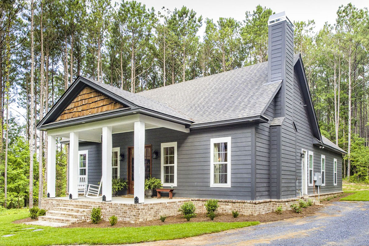 Storybook Bungalow With Large Front And Back Porches