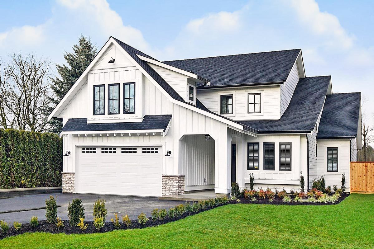 New American House Plans