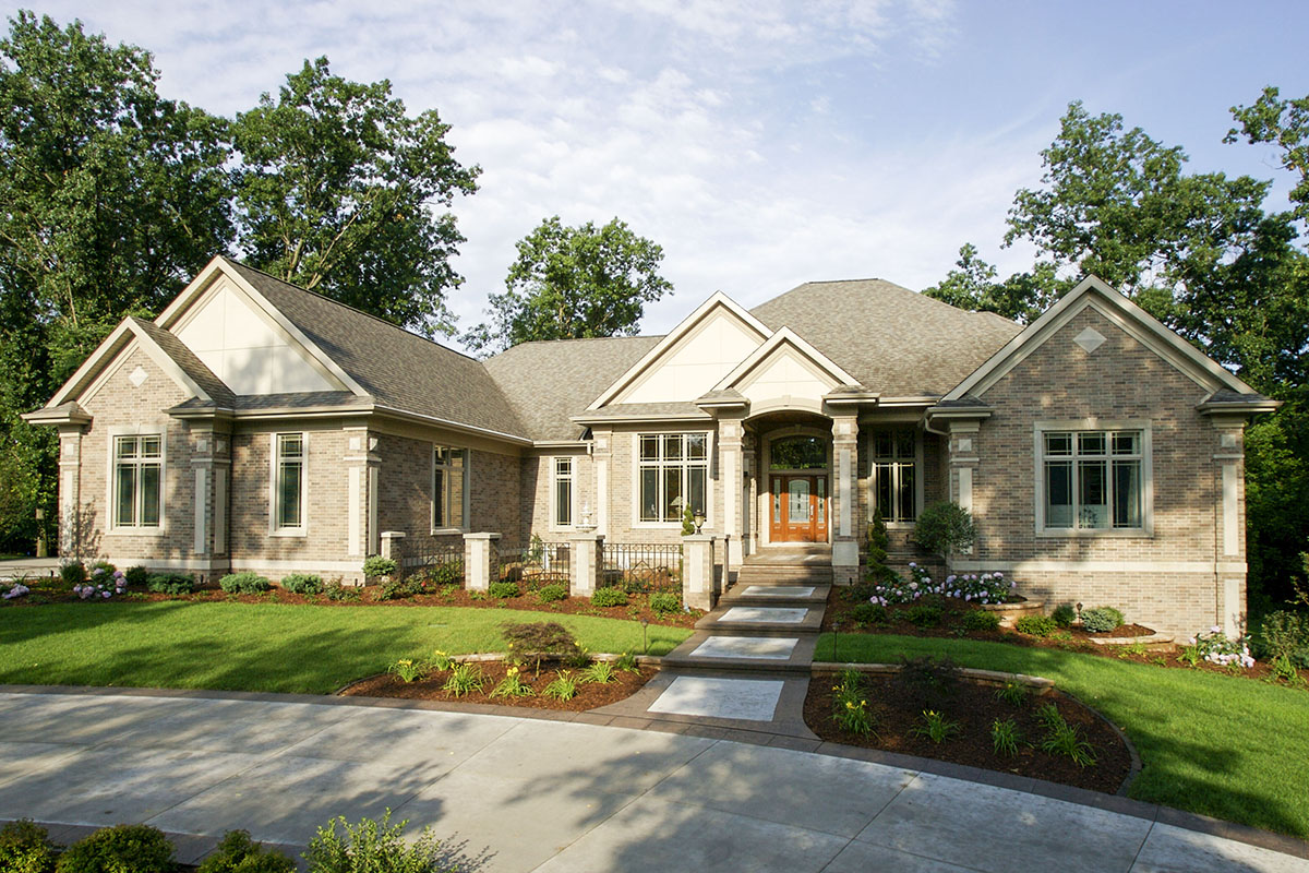 4-Bed Craftsman House Plan With Finished Walkout Basement