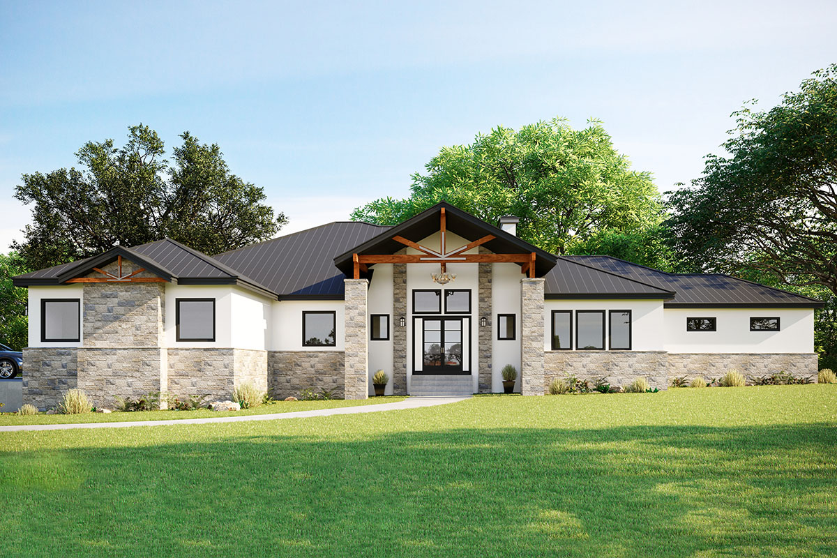 430057LY_Render_1573063513 Ranch House Plans Car on house plans 6 bed, house plans garage, house plans 5 bed, house plans 3 bed, house plans 2 bed, house plans min,