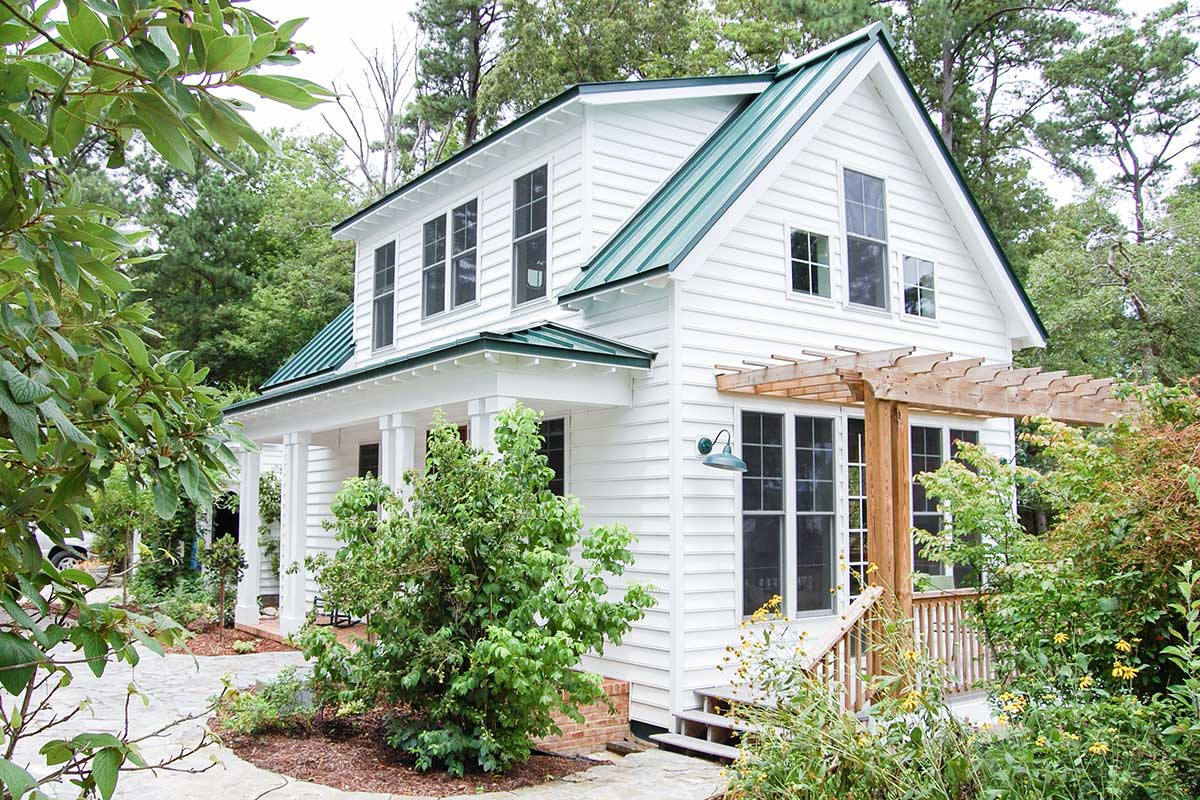 Adorable 3-Bedroom Cottage House Plan with Front and Side ...