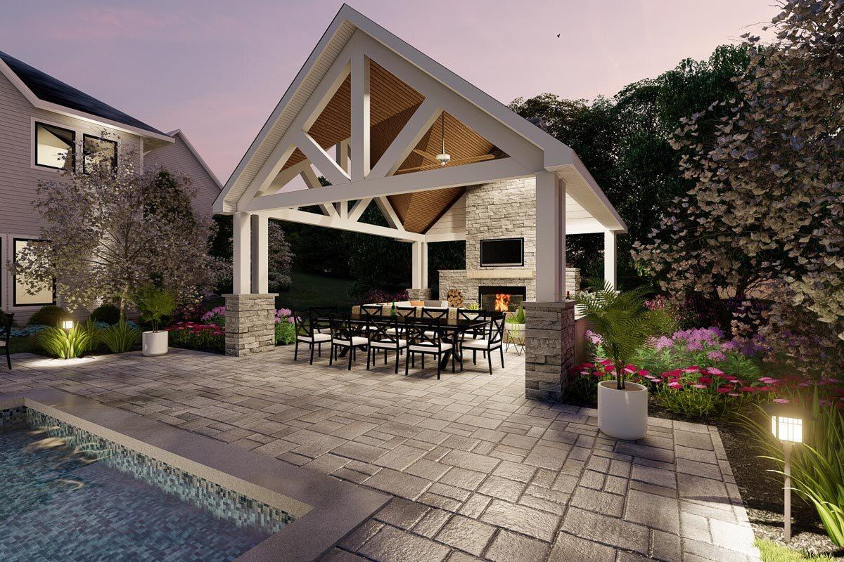 Poolhouse Plans