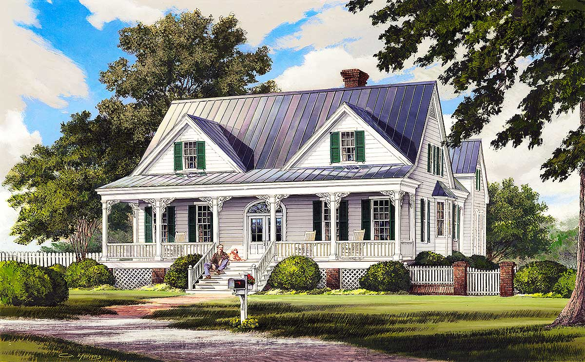 southern farm house plans southern country style house country home with garage apartment 32601wp