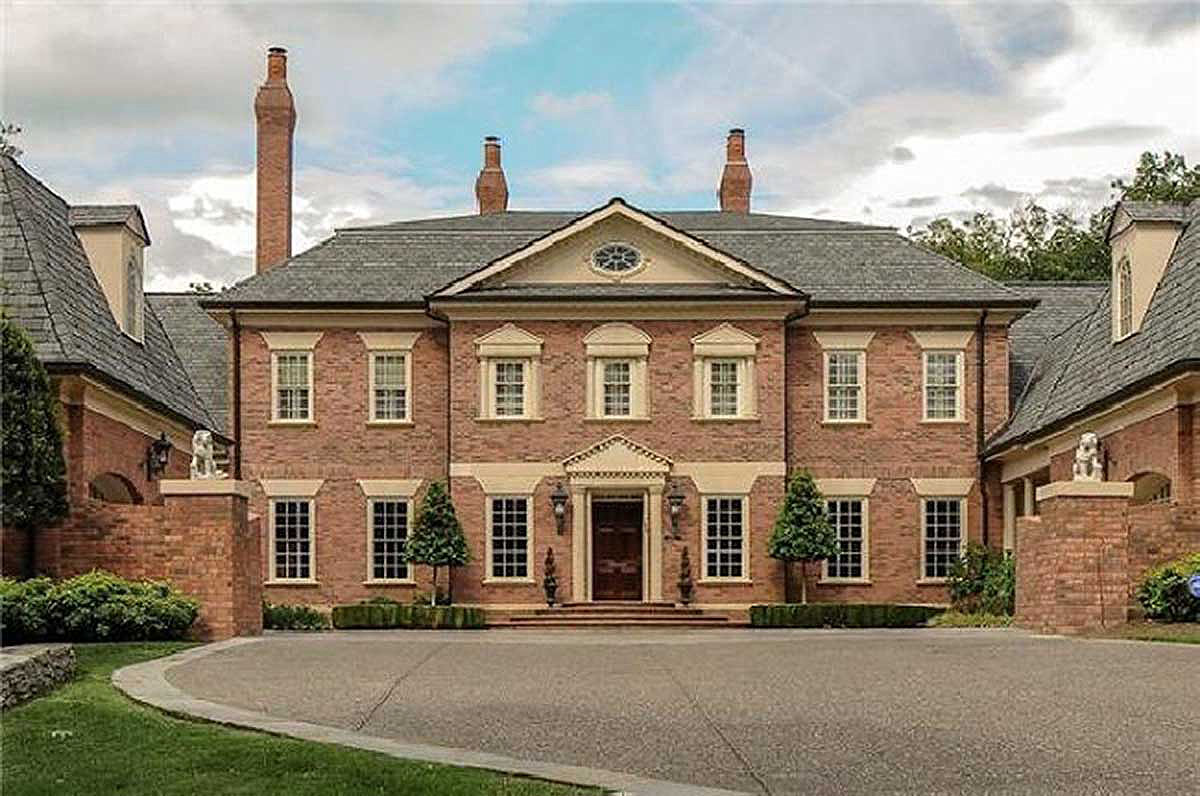Lovely Georgian Estate Home - 32607WP | Architectural