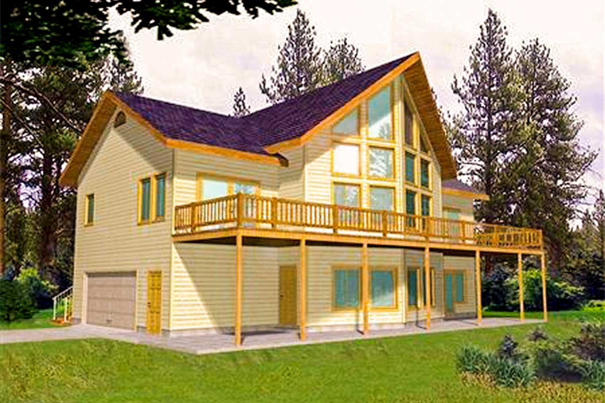 For the View  Lot  35219GH Architectural Designs House