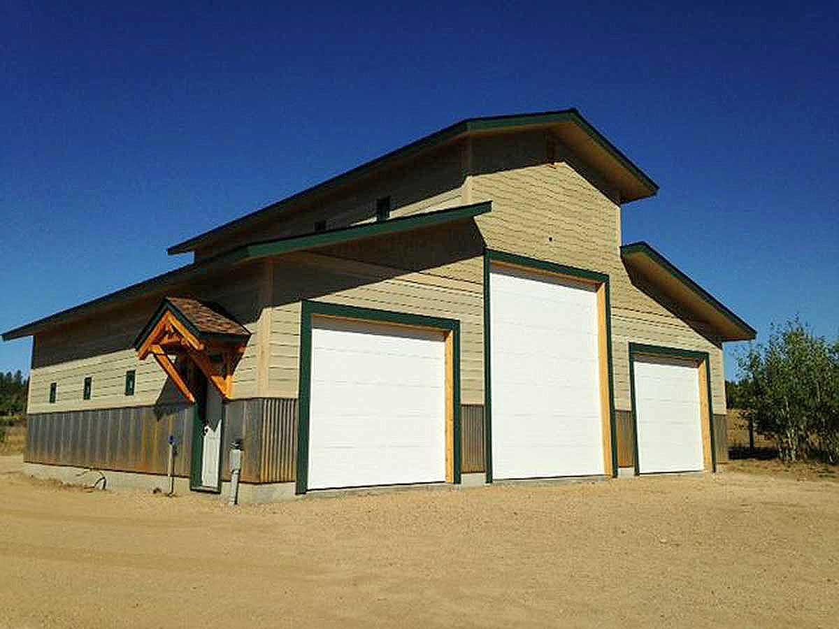 RV Garage Plan with Workshop - 35334GH | Architectural ...