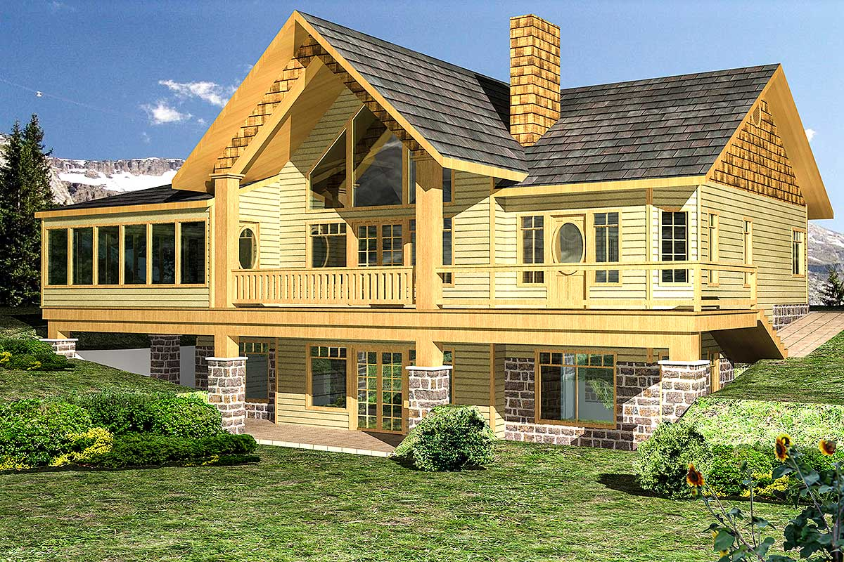 great floor plans great views 35373gh architectural designs house plans 9370