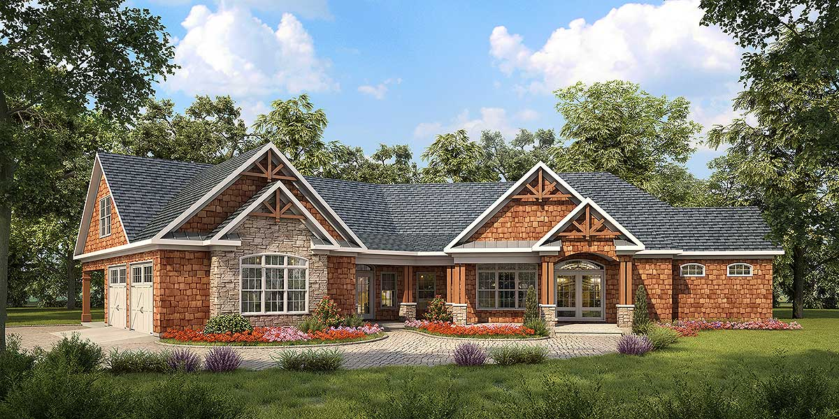 Angled craftsman house plan 36028dk architectural for Design your house