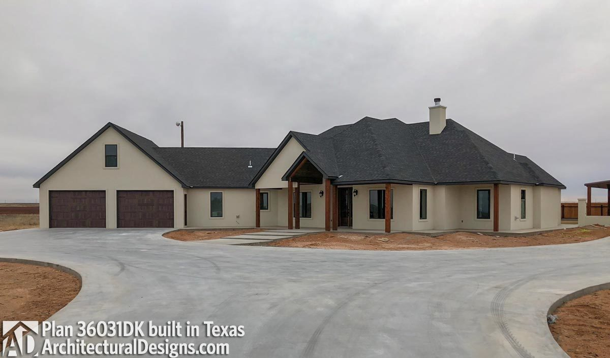 Plan 36031DK: Craftsman House Plan with Angled Garage on mountain home plans and designs, home garage designs, fabric angel house designs, mountain style home designs, rambler style house designs, angled floor plan house plans, small bungalow designs, cool terraria house designs,