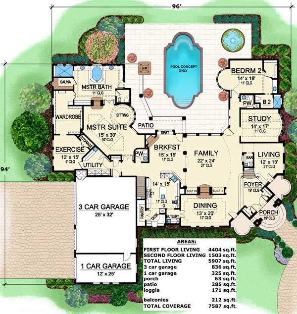 Amazing Floor Plan