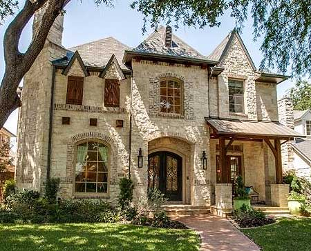 Old World Charm - 36292TX | Architectural Designs - House ...