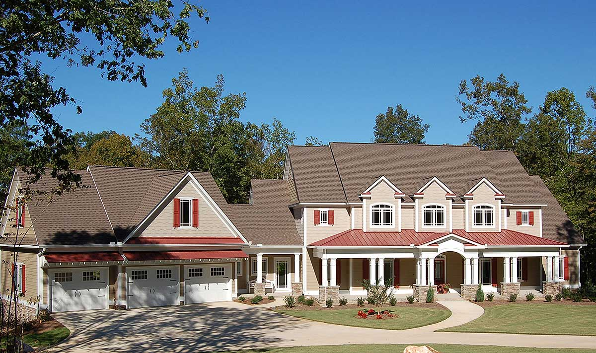 Craftsman With A Farmhouse Touch 3645dk Architectural Designs House Plans