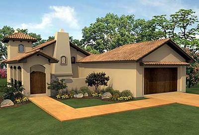 Narrow Lot Courtyard Home Plan 36818jg Architectural Designs