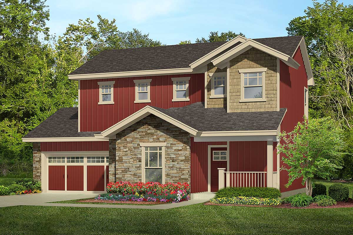 36910jg 1 1504817464 - 23+ Small House Design With Second Floor  Pics