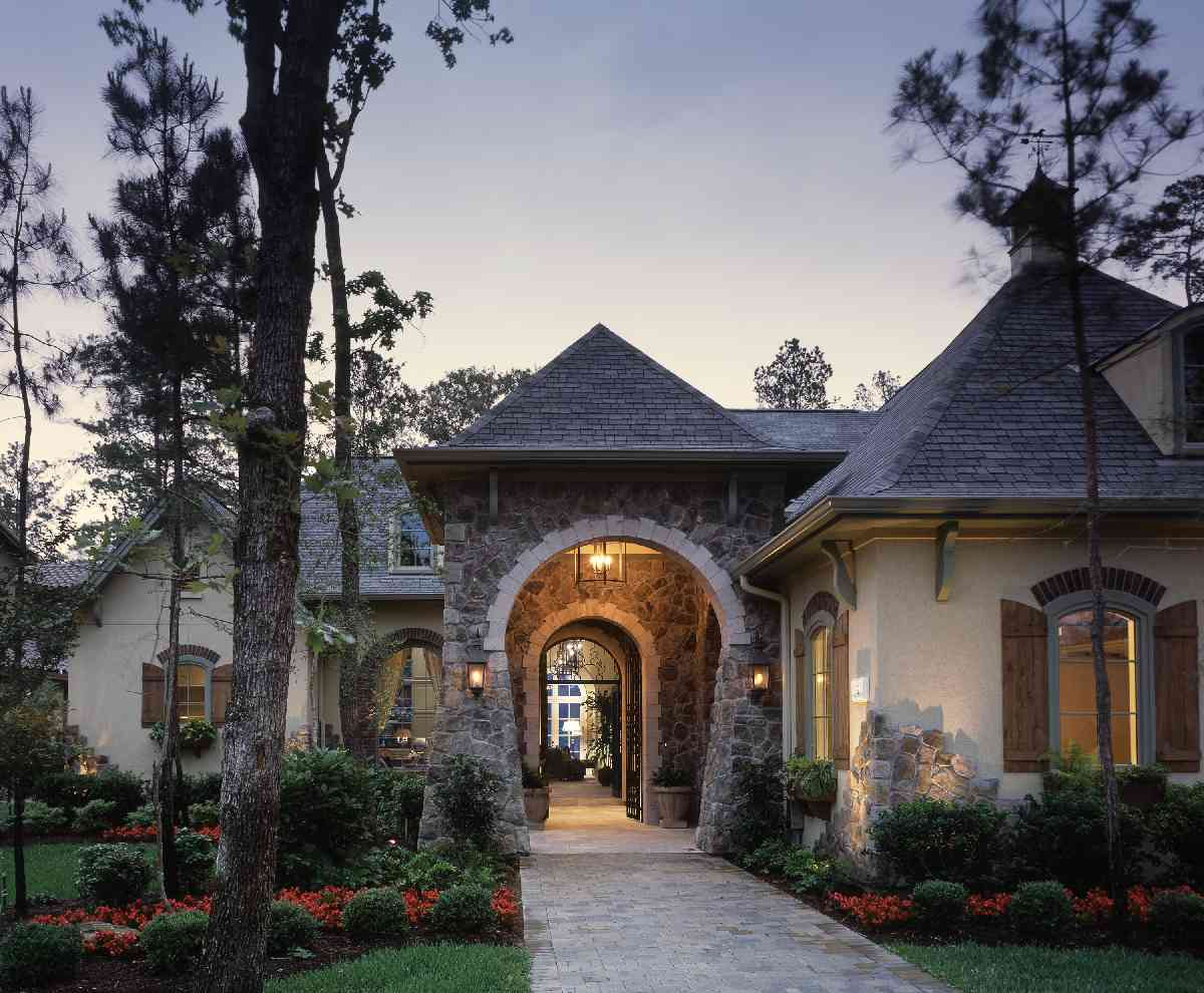 Exceptional French Country Manor - 40444DB | Architectural ...