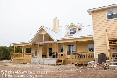 House Plan 4122WM comes to life in Texas again with an expanded garage! - photo 012