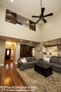 House Plan 4122WM comes to life in Texas again with an expanded garage! - photo 018