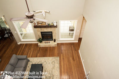 House Plan 4122WM comes to life in Texas again with an expanded garage! - photo 019