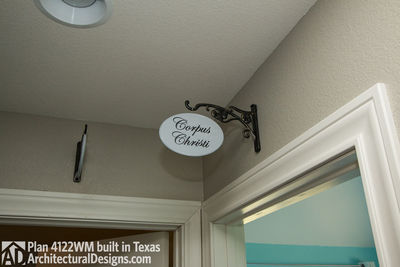 House Plan 4122WM comes to life in Texas again with an expanded garage! - photo 032