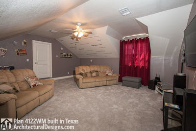 House Plan 4122WM comes to life in Texas again with an expanded garage! - photo 041