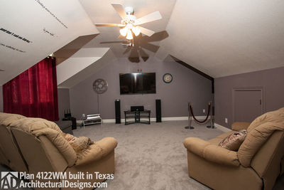 House Plan 4122WM comes to life in Texas again with an expanded garage! - photo 042