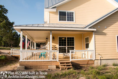 House Plan 4122WM comes to life in Texas again with an expanded garage! - photo 006