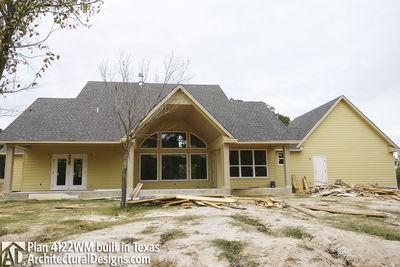 Farmhouse Plan 4122WM comes to life in Texas - photo 013