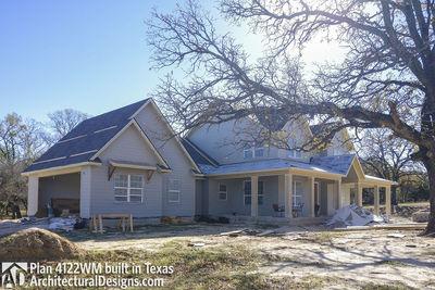 Farmhouse Plan 4122WM comes to life in Texas - photo 012
