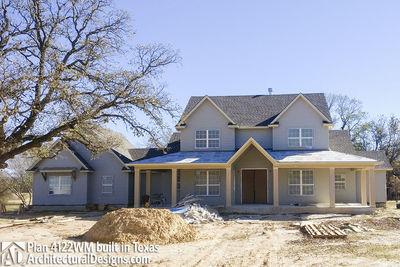 Farmhouse Plan 4122WM comes to life in Texas - photo 011