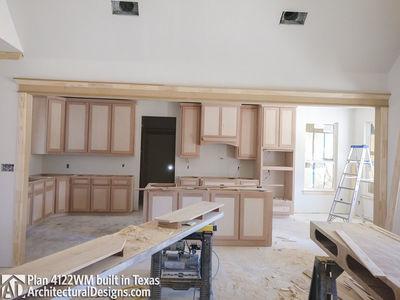 Farmhouse Plan 4122WM comes to life in Texas - photo 017