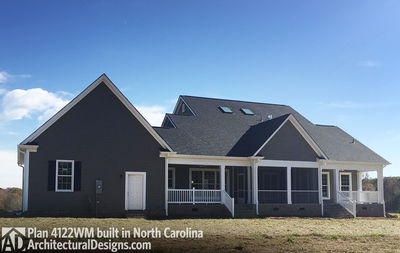 House Plan 4122WM comes to life in North Carolina! - photo 011