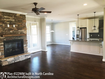 House Plan 4122WM comes to life in North Carolina! - photo 002