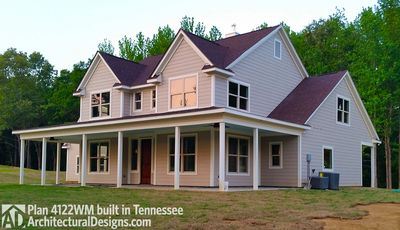 House Plan 4122WM comes to life in Tennessee again! - photo 001