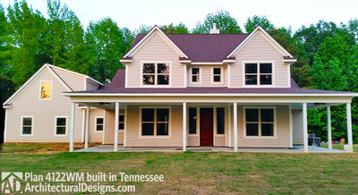 House Plan 4122WM comes to life in Tennessee again! - photo 002