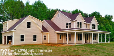 House Plan 4122WM comes to life in Tennessee again! - photo 003