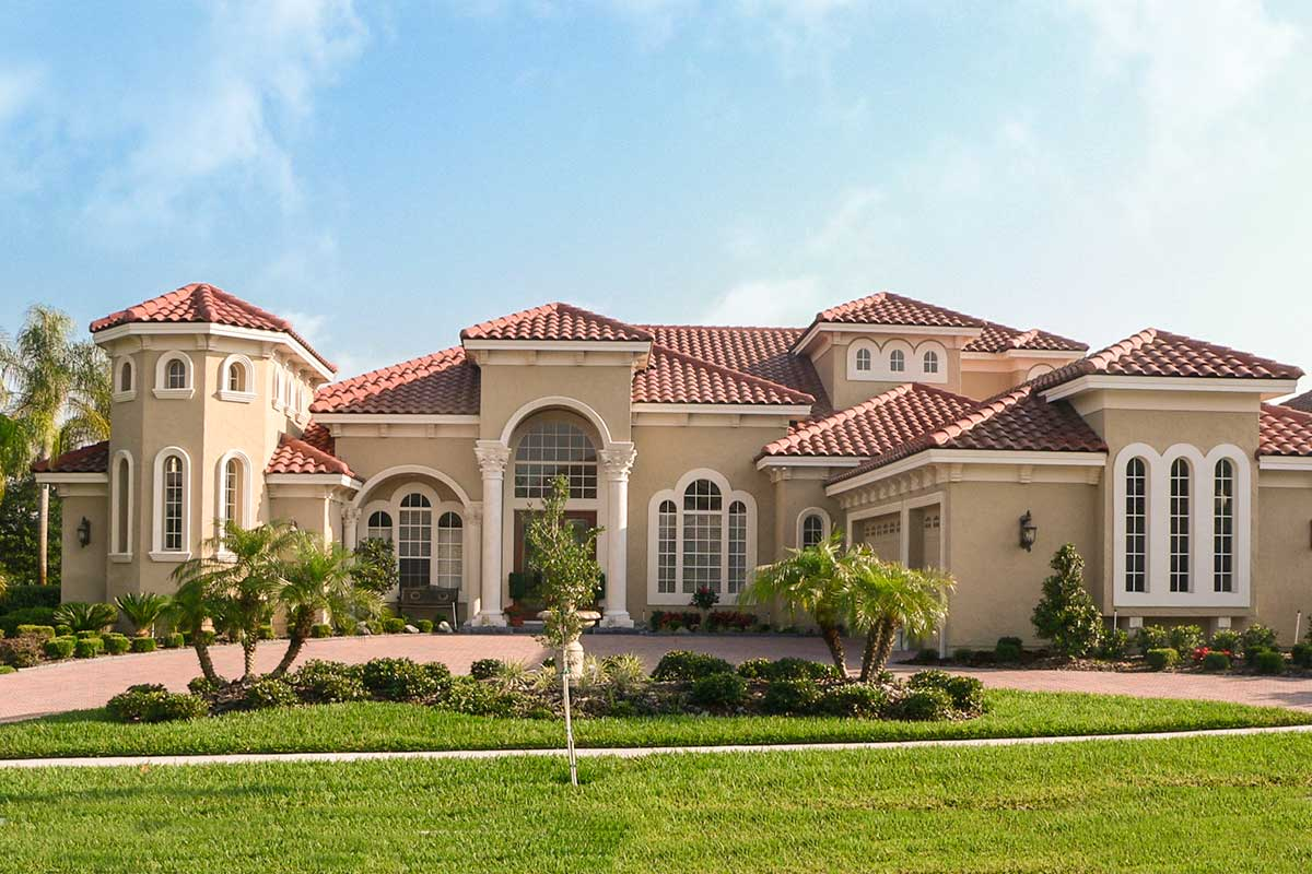Outstanding Mediterranean Home Plan - 42057MJ ...