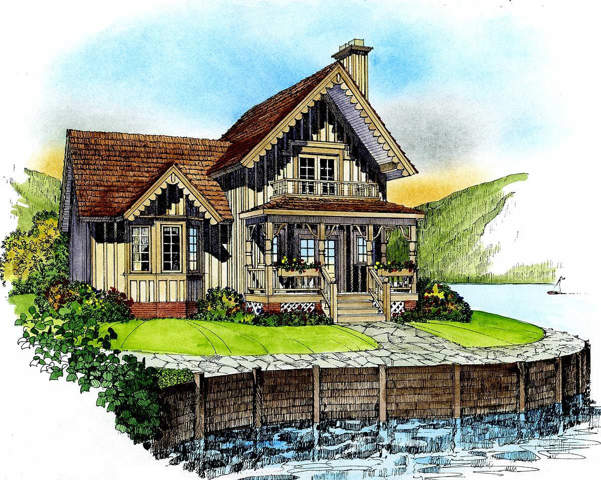 Quaint Cottage 43018pf Architectural Designs House Plans
