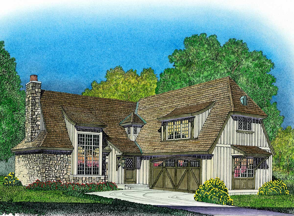 Tasteful English Style Cottage 43045pf Architectural Designs House Plans