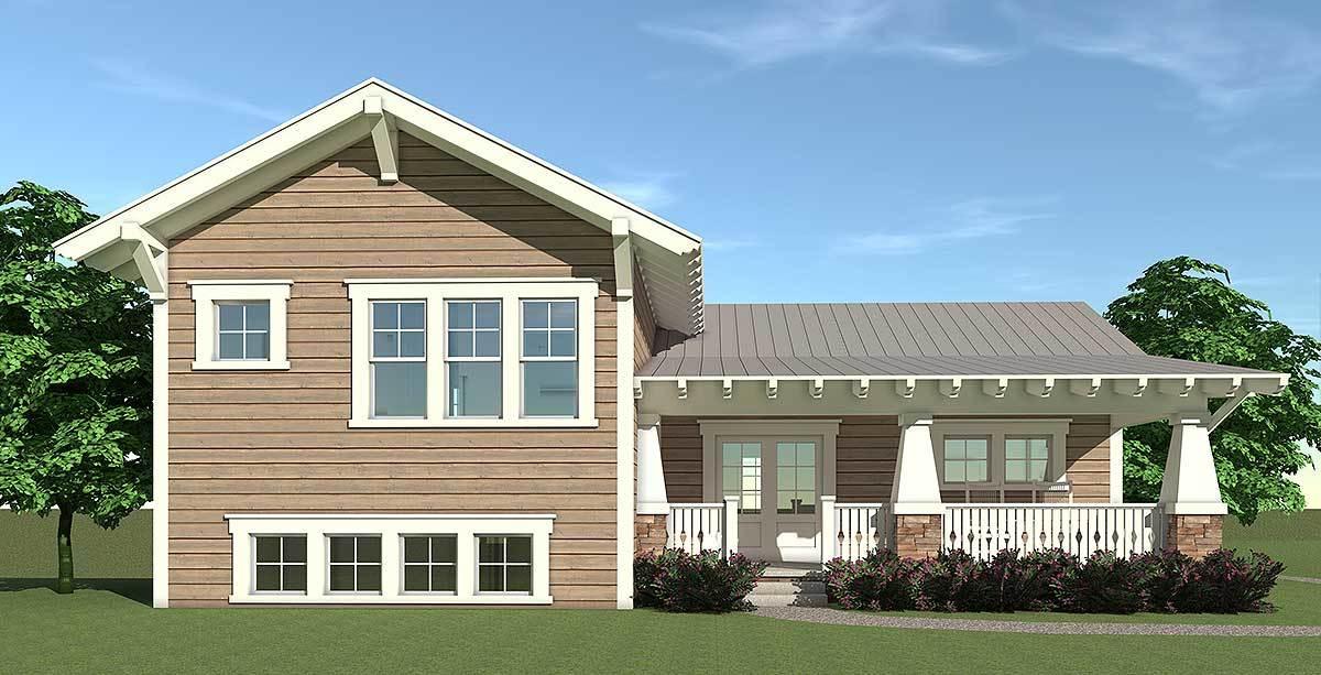 Craftsman Split Level 44067td Architectural Designs House Plans