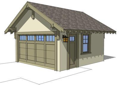 Plan 44080td Craftsman Style Detached Garage Plan