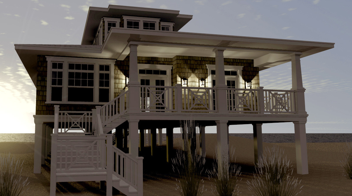 Beach House Floor Plans: Architectural Designs