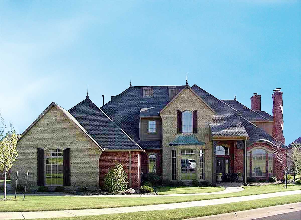 4 Bedroom French Country Home Plan
