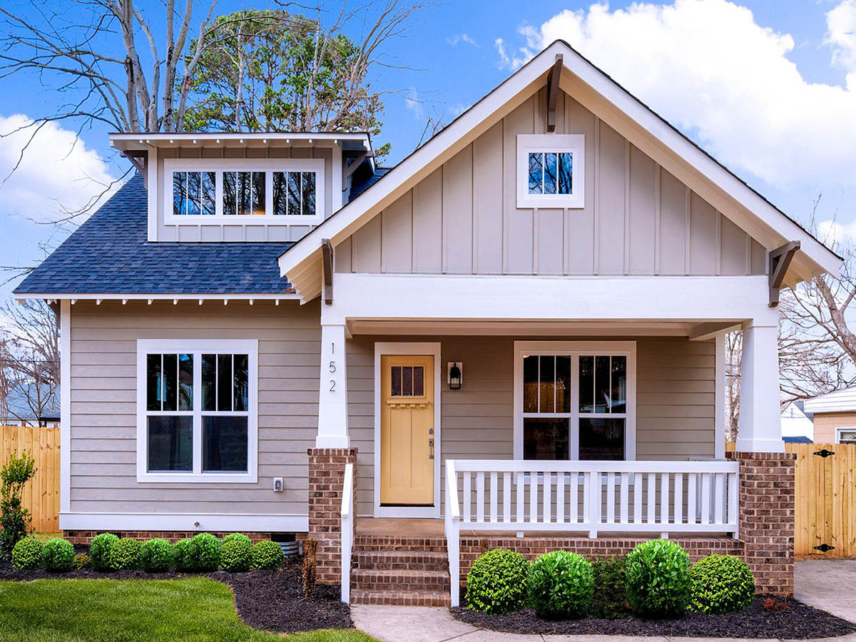 Charming Craftsman Bungalow With Deep Front Porch