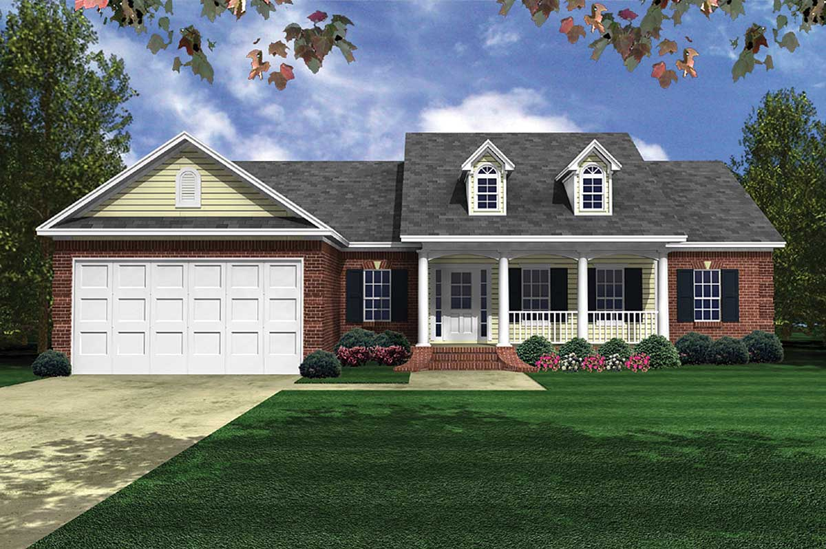 Family Friendly Country House Plan - 5142MM ...