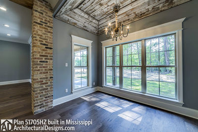 House Plan 51705HZ built with an all-brick exterior in Mississippi - photo 014
