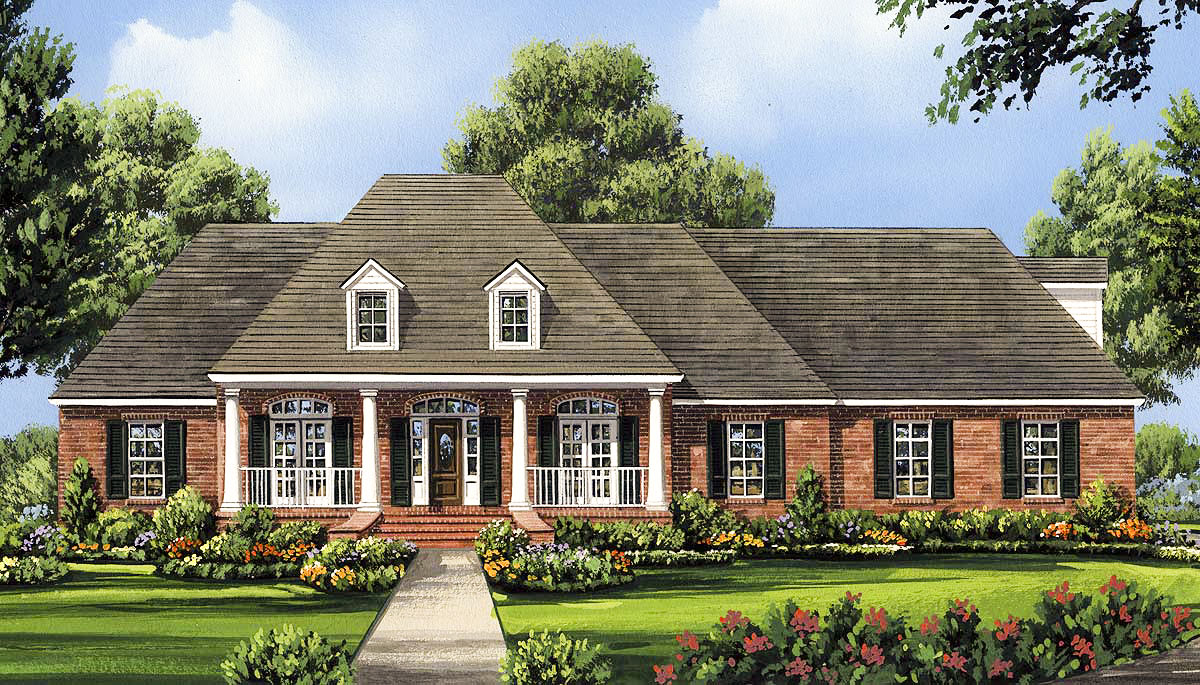 traditional country house plans traditional country home plan 5181mm architectural designs house plans 7367