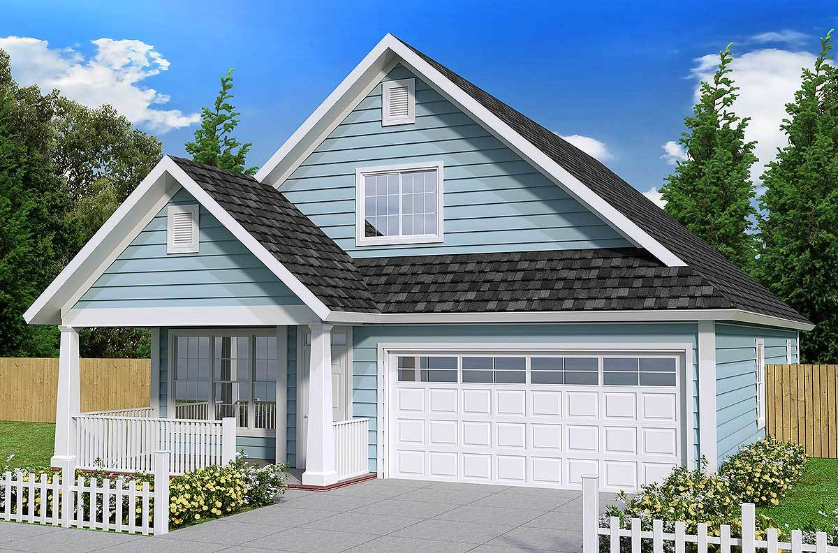 Cottage With First Floor Master 52213wm Architectural Designs House Plans